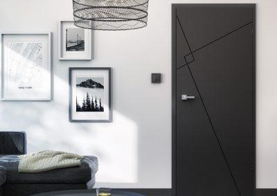 Dažytos durys Linea Premium Loft