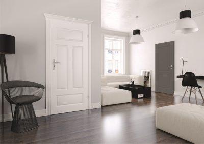 Dažytos durys Morano